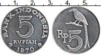 Продать Монеты Индонезия 5 рупий 1970 Алюминий