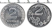 Продать Монеты Индонезия 2 рупии 1970 Алюминий