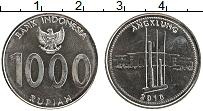 Продать Монеты Индонезия 1000 рупий 2010 Сталь