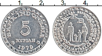 Продать Монеты Индонезия 5 рупий 1979 Алюминий