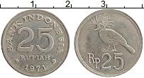Изображение Монеты Индонезия 25 рупий 1971 Медно-никель XF