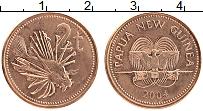 Изображение Монеты Папуа-Новая Гвинея 2 тоа 2004 Бронза UNC-