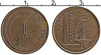 Изображение Монеты Сингапур 1 цент 1973 Бронза XF