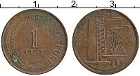 Изображение Монеты Сингапур 1 цент 1982 Бронза XF