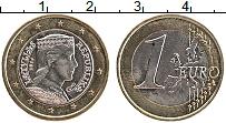 Продать Монеты Латвия 1 евро 2014 Биметалл