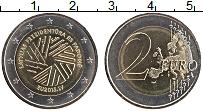 Продать Монеты Латвия 2 евро 2015 Биметалл