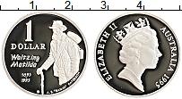 Изображение Монеты Австралия 1 доллар 1995 Серебро Proof