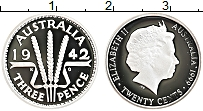 Изображение Монеты Австралия 20 центов 1999 Серебро Proof Елизавета II