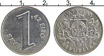 Продать Монеты Латвия 1 лат 2013 Медно-никель