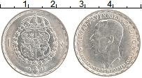 Изображение Монеты Швеция 1 крона 1945 Серебро UNC