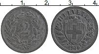 Изображение Монеты Швейцария 2 раппа 1946 Цинк XF