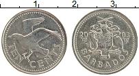 Изображение Монеты Барбадос 10 центов 2003 Медно-никель XF