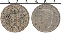 Изображение Монеты Новая Зеландия 1/2 кроны 1949 Медно-никель XF