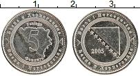 Изображение Монеты Босния и Герцеговина 5 фенигов 2005 Медно-никель XF