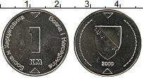 Продать Монеты Босния и Герцеговина 1 марка 2002 Медно-никель
