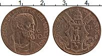 Изображение Монеты Ватикан 10 чентезимо 1931 Бронза XF Пий XI