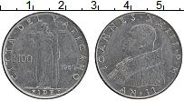 Изображение Монеты Ватикан 100 лир 1960 Медно-никель UNC- Иоанн XXIII. Вера