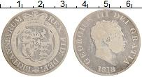 Изображение Монеты Великобритания 1/2 кроны 1818 Серебро VF Георг III