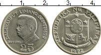 Изображение Монеты Филиппины 25 сентим 1972 Медно-никель UNC-