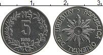 Изображение Монеты Уругвай 5 песо 1989 Медно-никель UNC