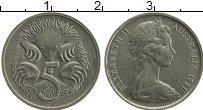 Изображение Монеты Австралия 5 центов 1981 Медно-никель XF Елизавета II