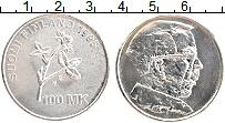 Изображение Монеты Финляндия 100 марок 1995 Серебро UNC-