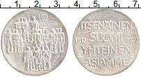 Изображение Монеты Финляндия 10 марок 1977 Серебро XF 60 лет независимости