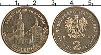 Изображение Монеты Польша 2 злотых 2009 Латунь UNC- Тшебница
