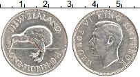 Изображение Монеты Новая Зеландия 1 флорин 1941 Серебро XF Георг VI