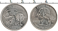 Изображение Мелочь США 1/4 доллара 2000 Медно-никель UNC- Р. Штат Южная Кароли