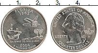 Изображение Мелочь США 1/4 доллара 2004 Медно-никель UNC- Р. Штат Флорида