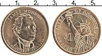 Изображение Мелочь США 1 доллар 2008 Латунь UNC- 5-й президент США Дж