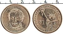 Изображение Монеты США 1 доллар 2009 Латунь UNC 12-й президент США З
