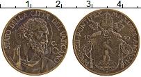 Изображение Монеты Ватикан 10 чентезимо 1940 Медь XF Пий XII.
