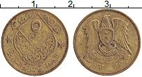 Изображение Монеты Сирия 5 пиастров 1962 Латунь XF