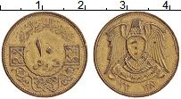 Изображение Монеты Сирия 10 пиастр 1962 Латунь XF