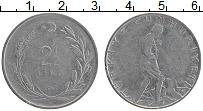Изображение Монеты Турция 2 1/2 лира 1962 Медно-никель XF