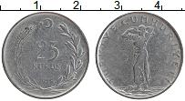 Изображение Монеты Турция 25 куруш 1959 Бронза XF