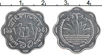 Изображение Монеты Бангладеш 10 пойша 1974 Алюминий UNC-