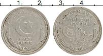 Изображение Монеты Пакистан 1/2 рупии 1949 Медно-никель VF