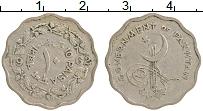 Изображение Монеты Пакистан 10 пайс 1962 Медно-никель VF