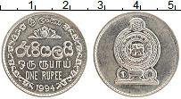 Изображение Монеты Шри-Ланка 1 рупия 1994 Медно-никель UNC-