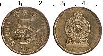 Изображение Монеты Шри-Ланка 5 рупий 2011 Латунь XF