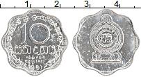 Изображение Монеты Шри-Ланка 10 центов 1991 Алюминий XF