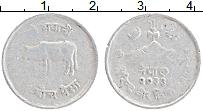 Изображение Монеты Непал 5 пайс 1976 Алюминий VF