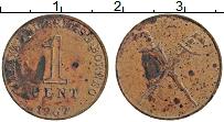 Изображение Монеты Малайя 1 цент 1962 Бронза VF
