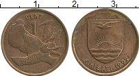 Изображение Монеты Кирибати 1 цент 1992 Бронза XF