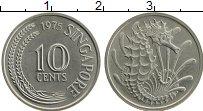 Изображение Монеты Сингапур 10 центов 1975 Медно-никель XF