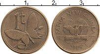 Изображение Монеты Папуа-Новая Гвинея 1 тоа 2004 Бронза XF