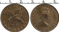 Изображение Монеты Остров Мэн 2 пенса 1979 Бронза XF
